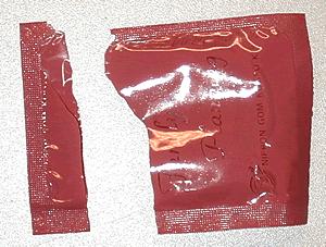 コンドームの開け方